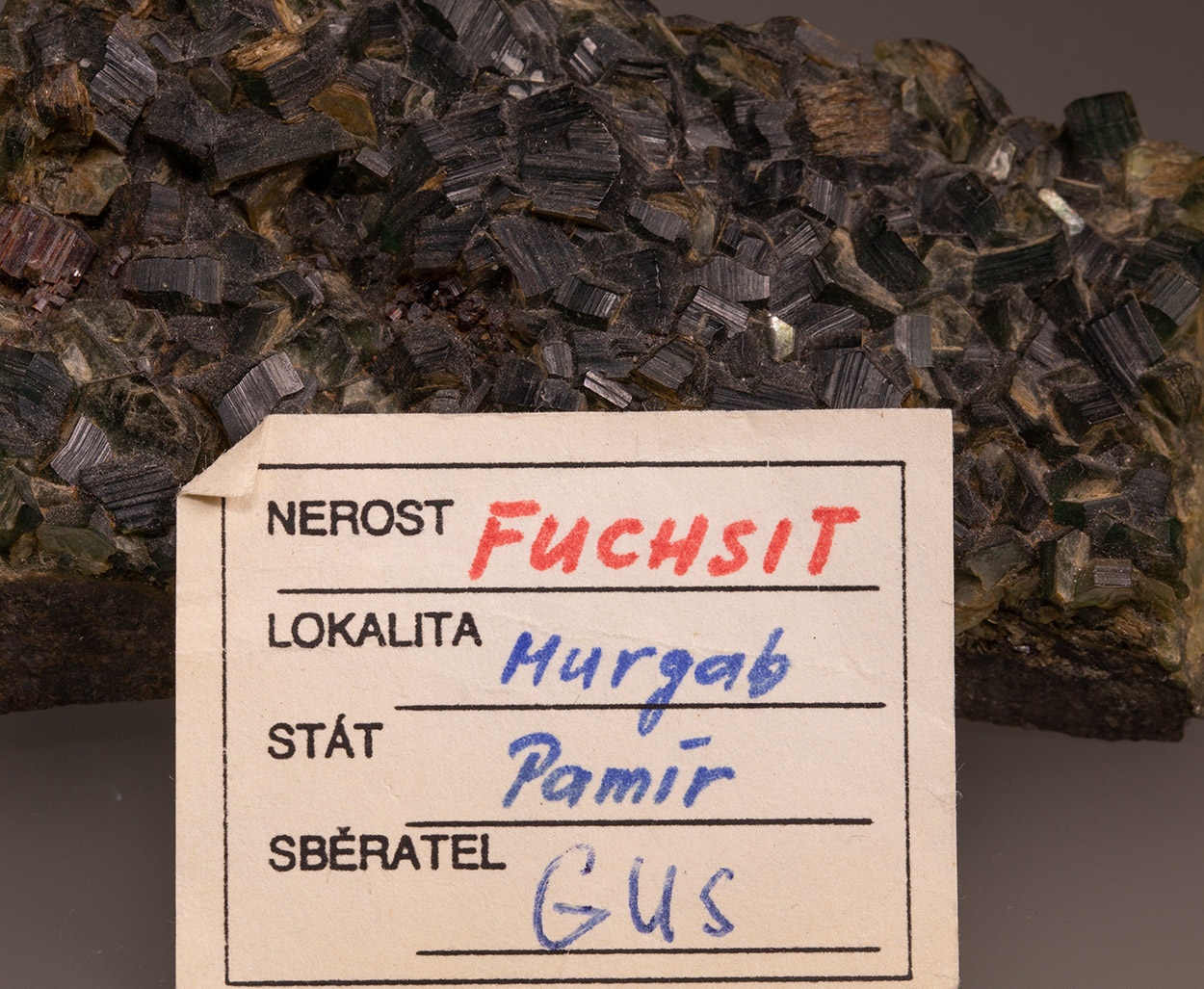 Fuchsite & Rutile