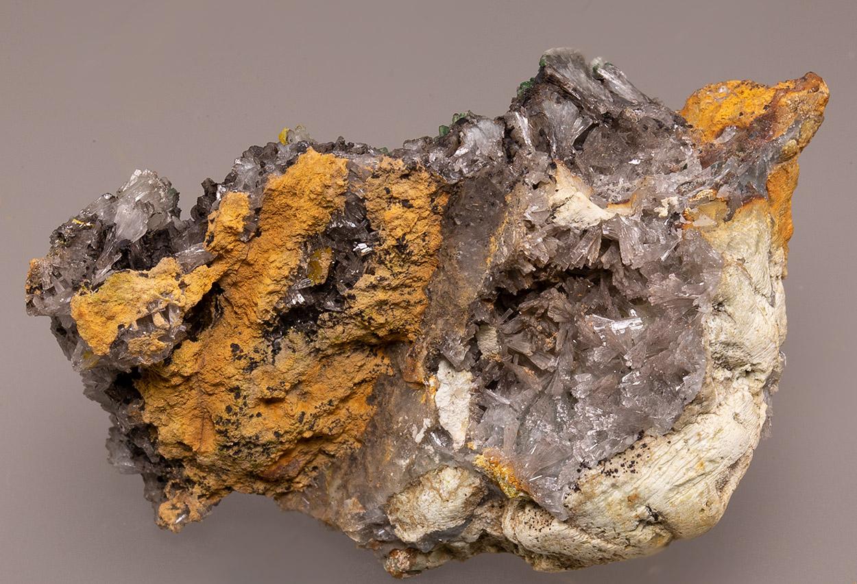 Wulfenite & Hemimorphite