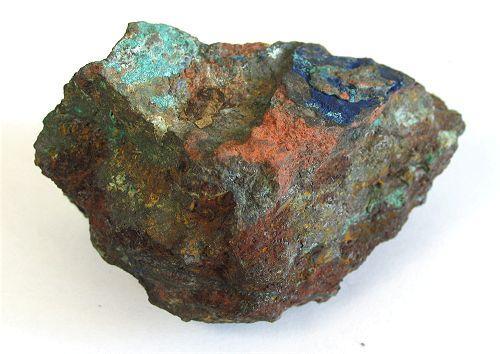 Pseudomalachite With Azurite