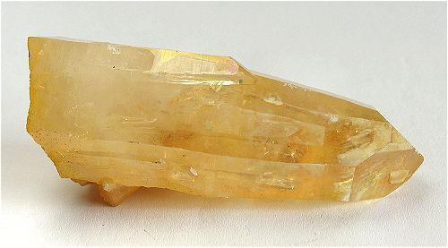 Quartz With Limonite