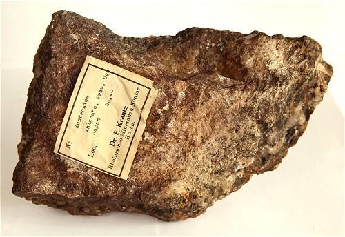 Chalcopyrite With Quartz & Siderite