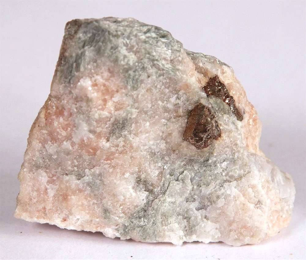 Pyrite With Talc & Muscovite