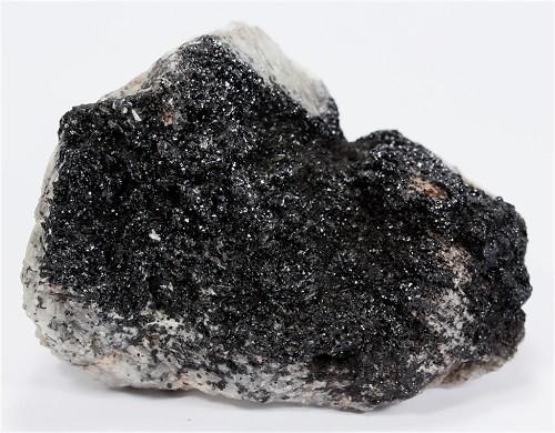 Pyrolusite Psm Manganite With Braunite & Baryte