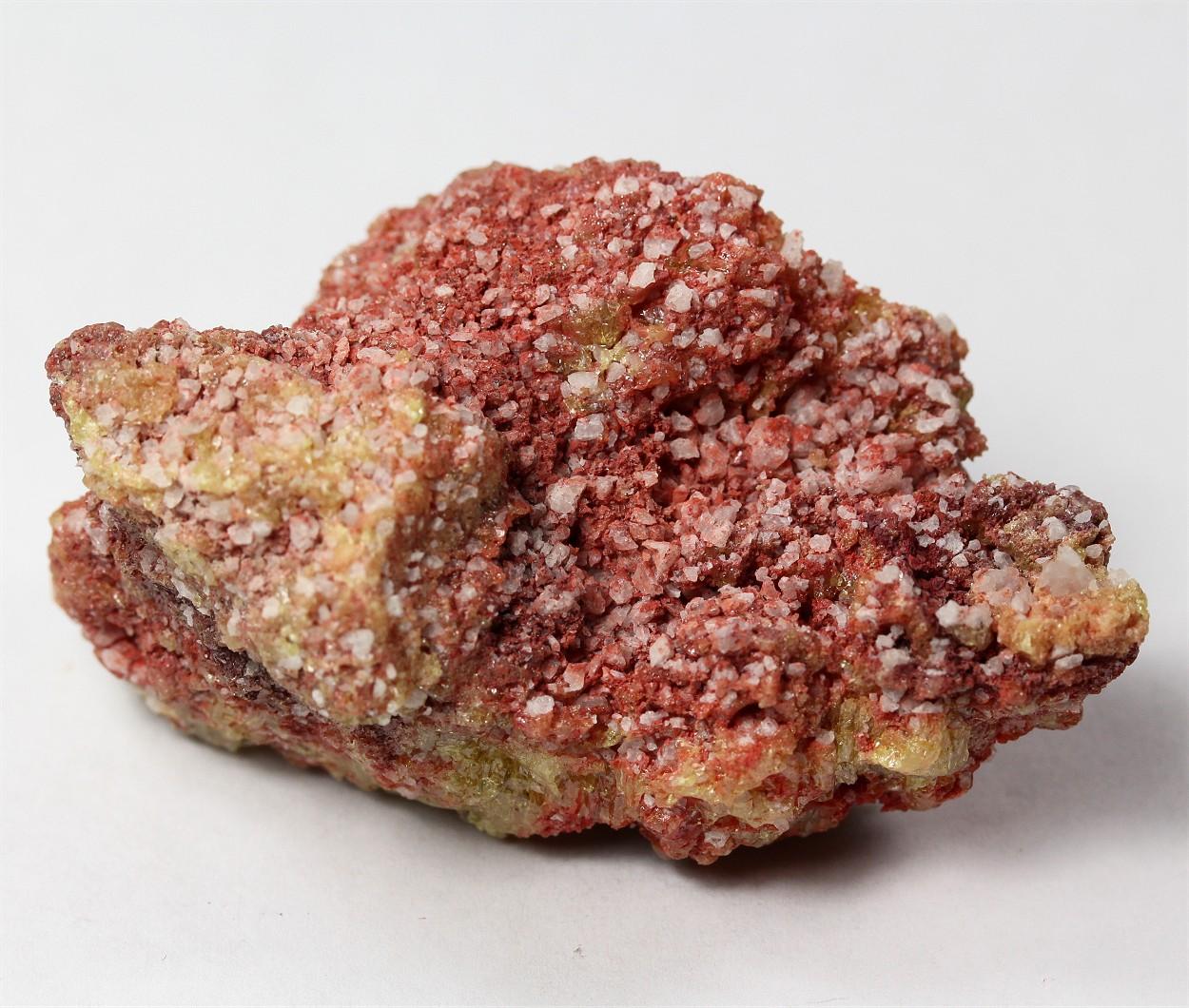 Cinnabar With Sulphur