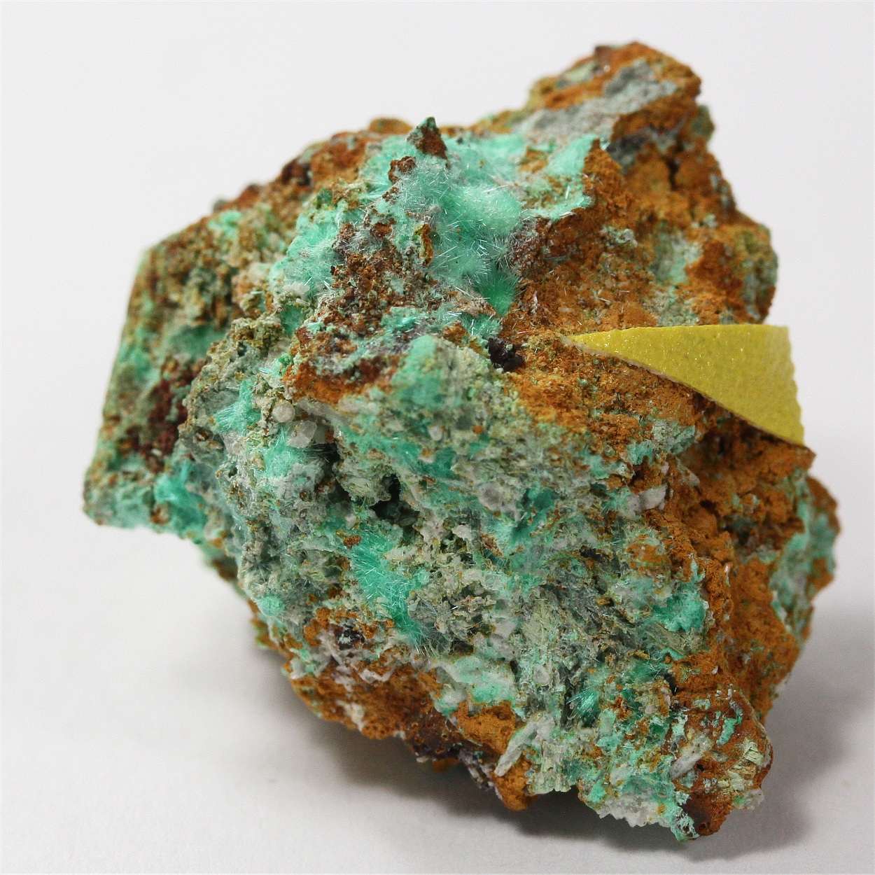 Gold With Mixite & Bismite
