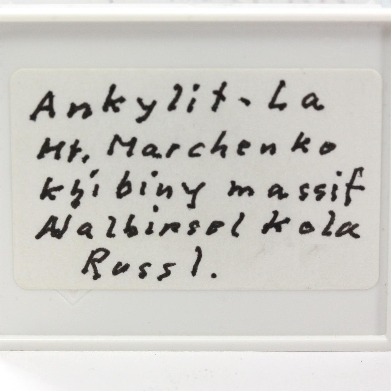 Ancylite-(La) With Aegirine