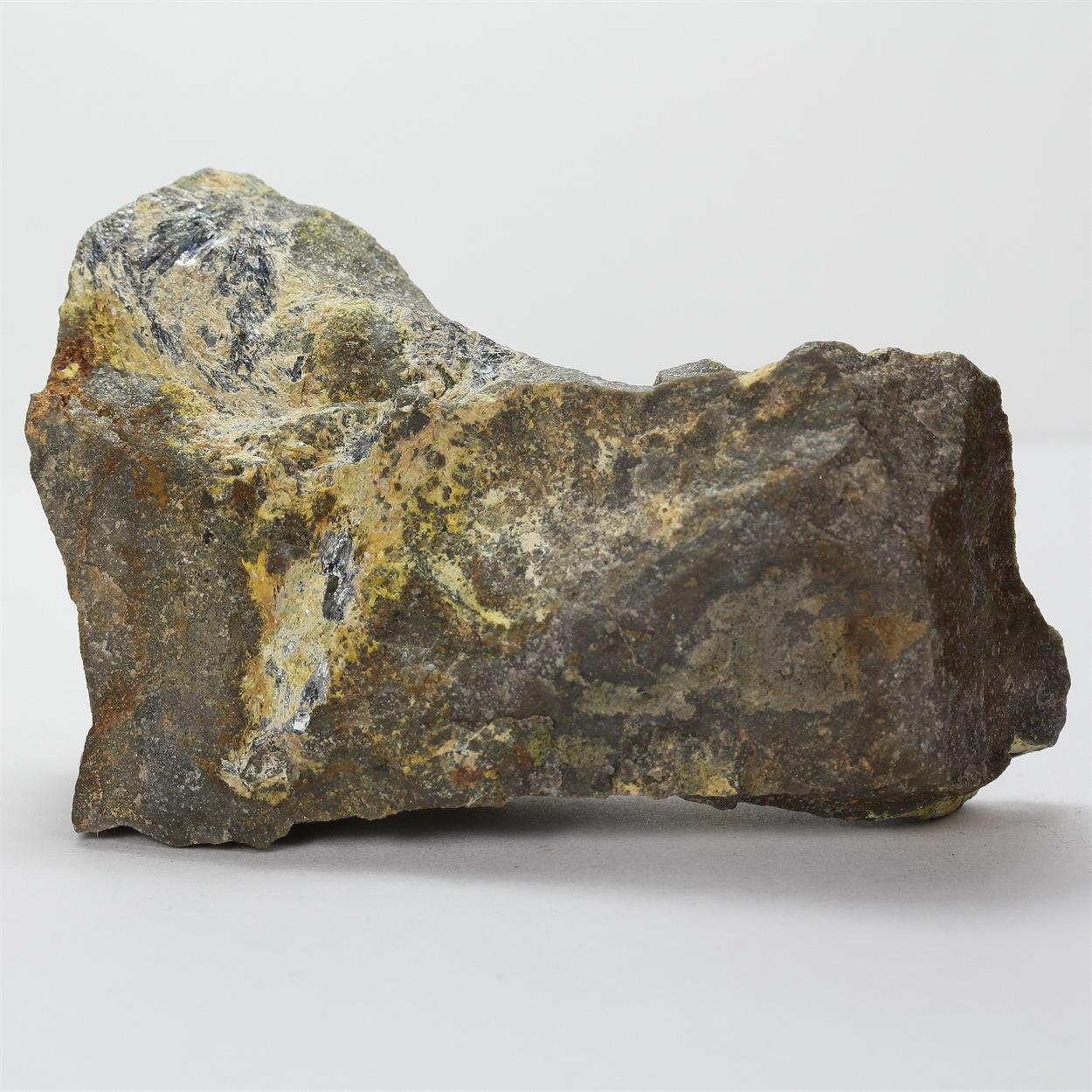 Antimony Ochre With Stibnite