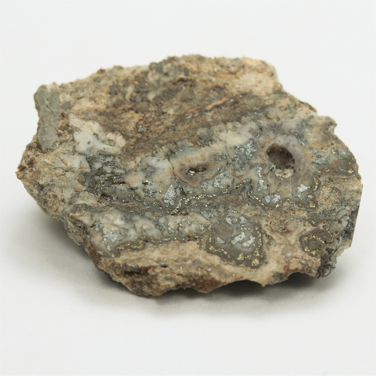 Gold Var Electrum With Acanthite