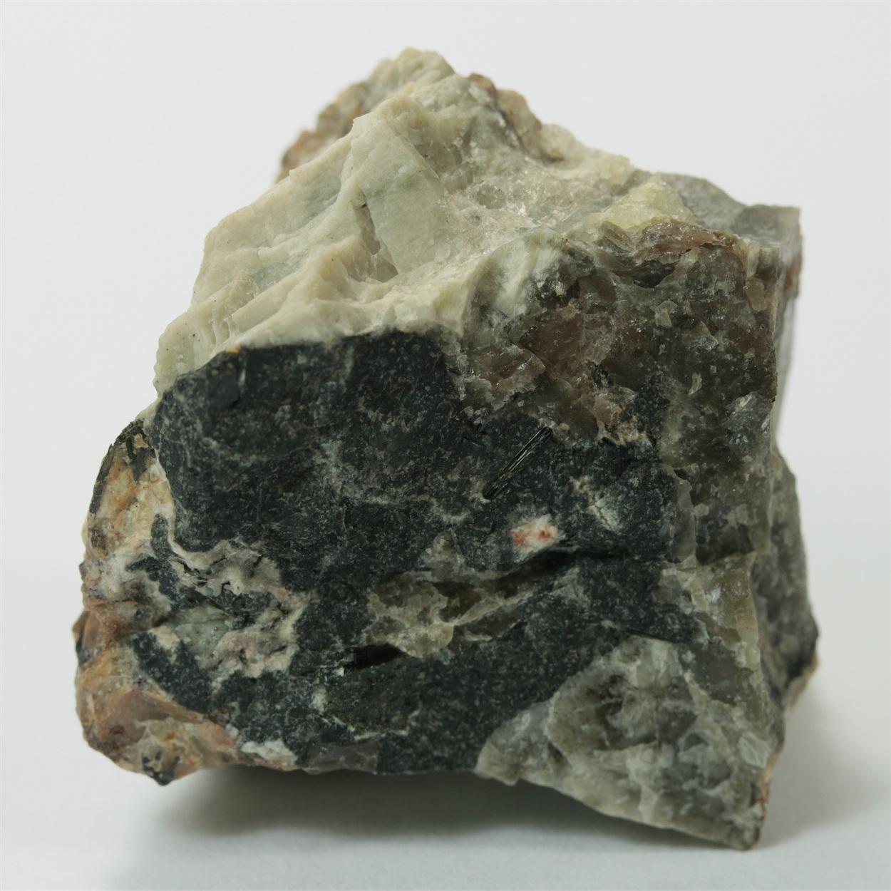 Nepheline Var Elaeolite With Leucophanite & Aegirine