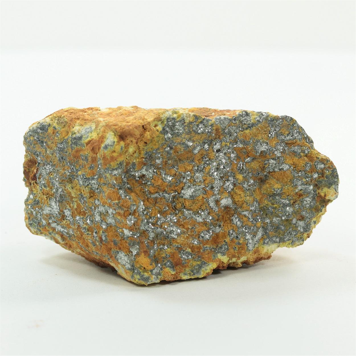Native Antimony With Stibiconite
