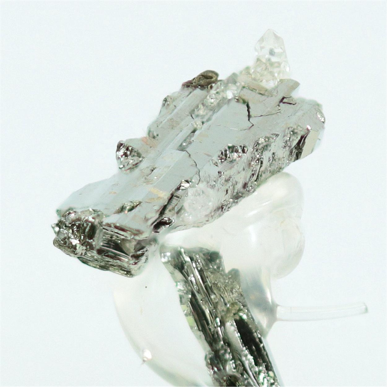 Sylvanite With Native Tellurium