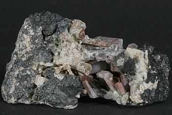 Nepheline With Schorlomite