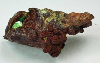 Meta-ankoleite With Metatorbernite