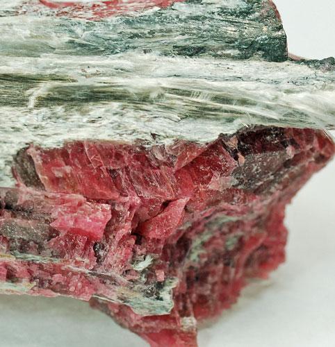 Pyroxmangite With Cummingtonite