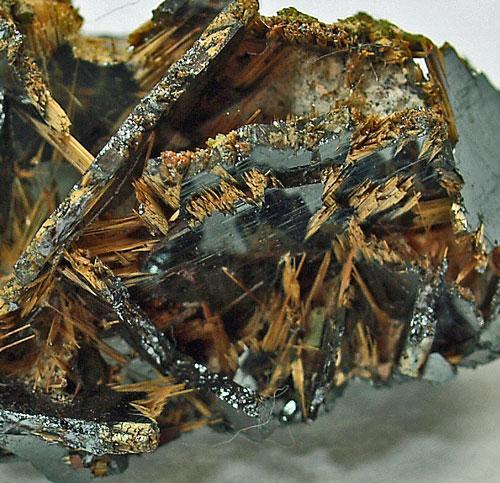 Monazite psm Hydroxylbastnäsite