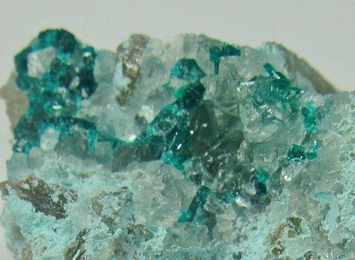 Plancheite & Dioptase