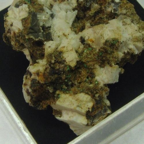 Torbernite & Rutile