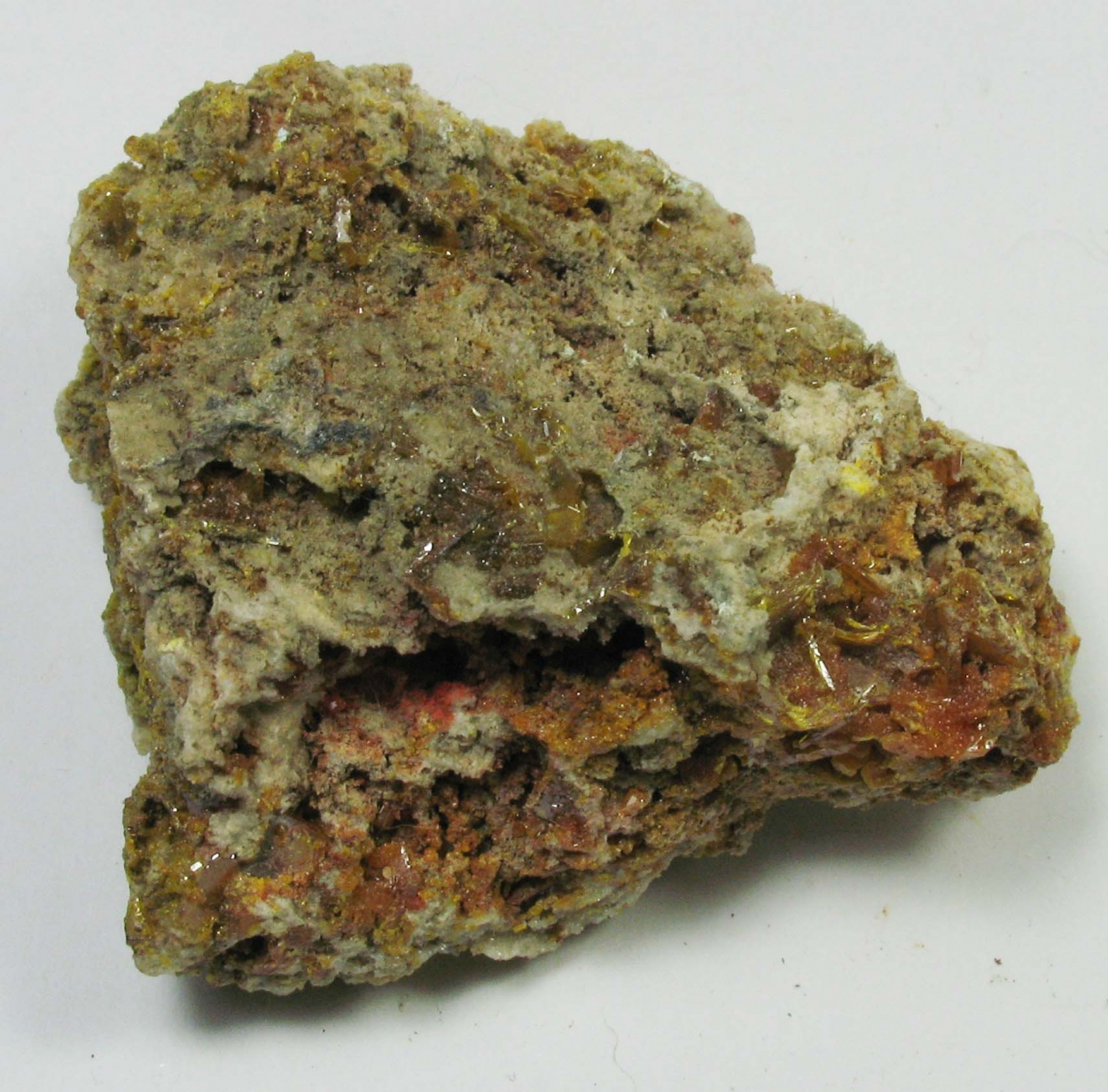 Minium & Wulfenite