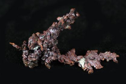 Cuprite On Copper