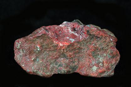 Native Mercury With Cinnabar