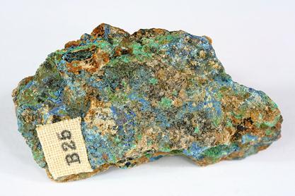 Azurite Malachite & Tenorite