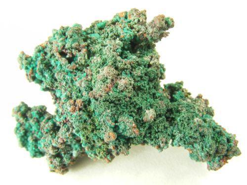Brochantite On Cuprite & Copper