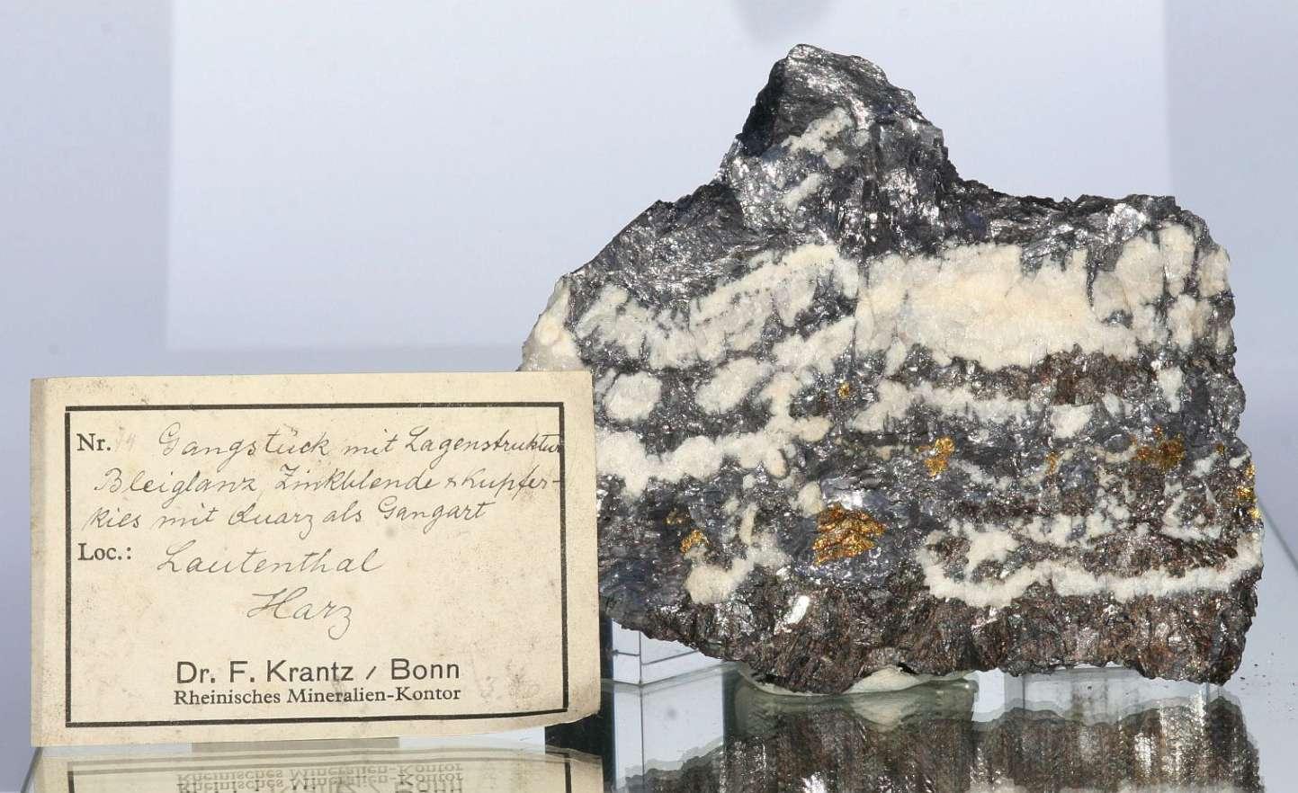 Galena Sphalerite & Chalcopyrite