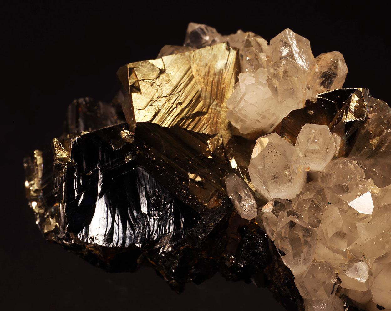 Chalcopyrite Sphalerite