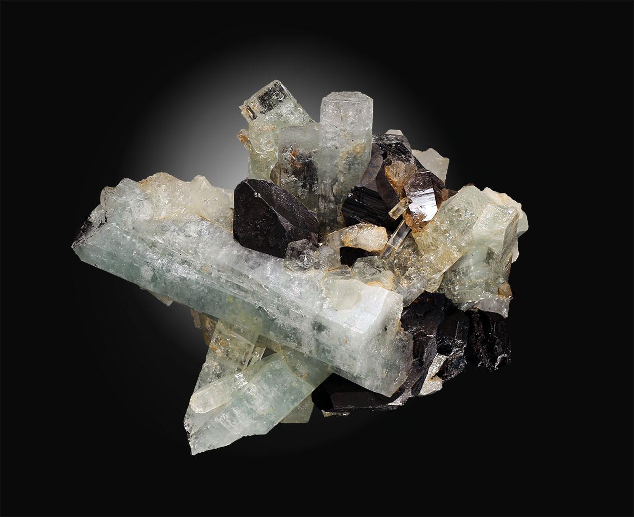 Aquamarine & Cassiterite