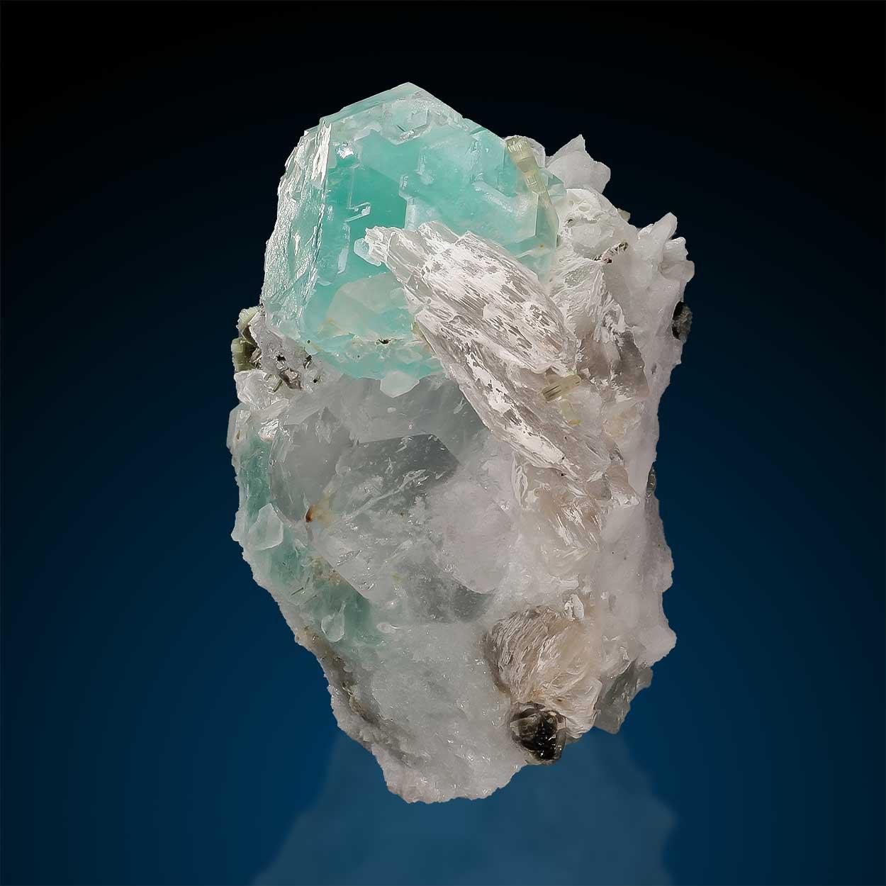Fluorite & Elbaite