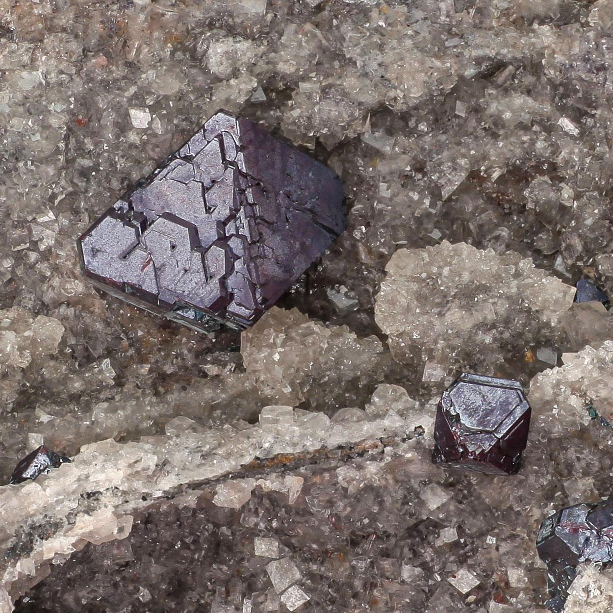 Cuprite On Calcite