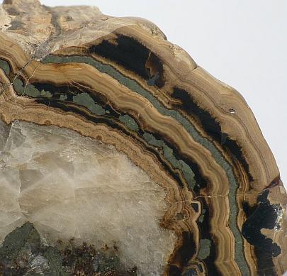 Schalenblende & Calcite