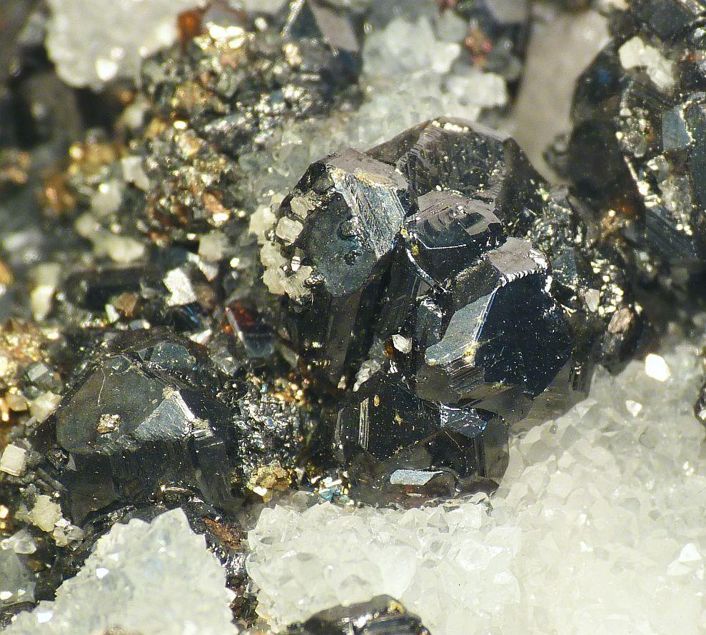 Sphalerite Tetrahedrite & Bournonite