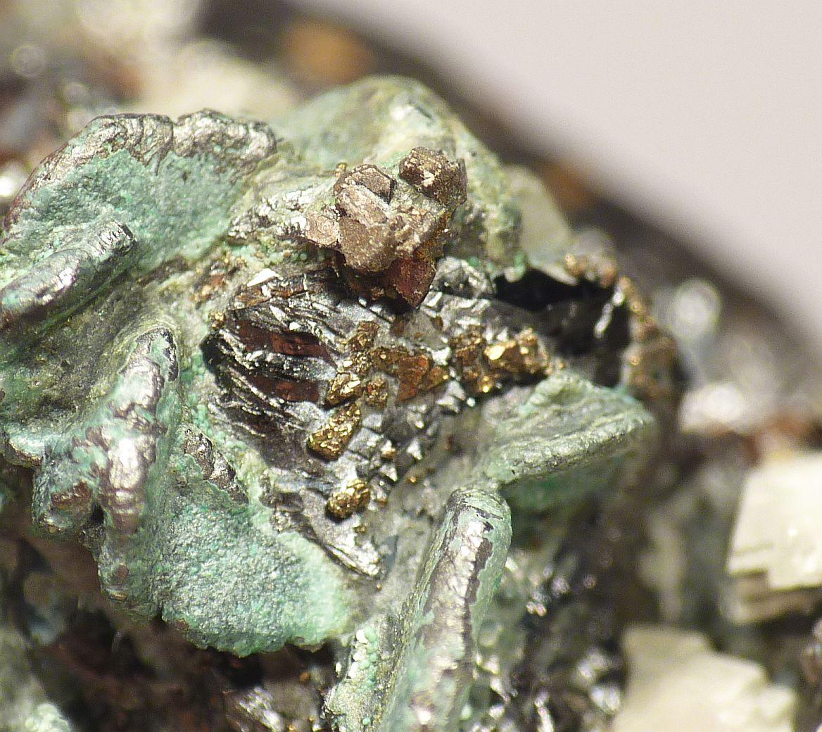 Bournonite Tetrahedrite & Sphalerite