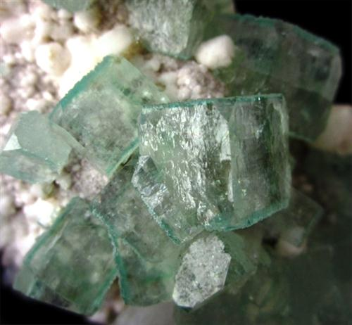 Apophyllite On Heulandite