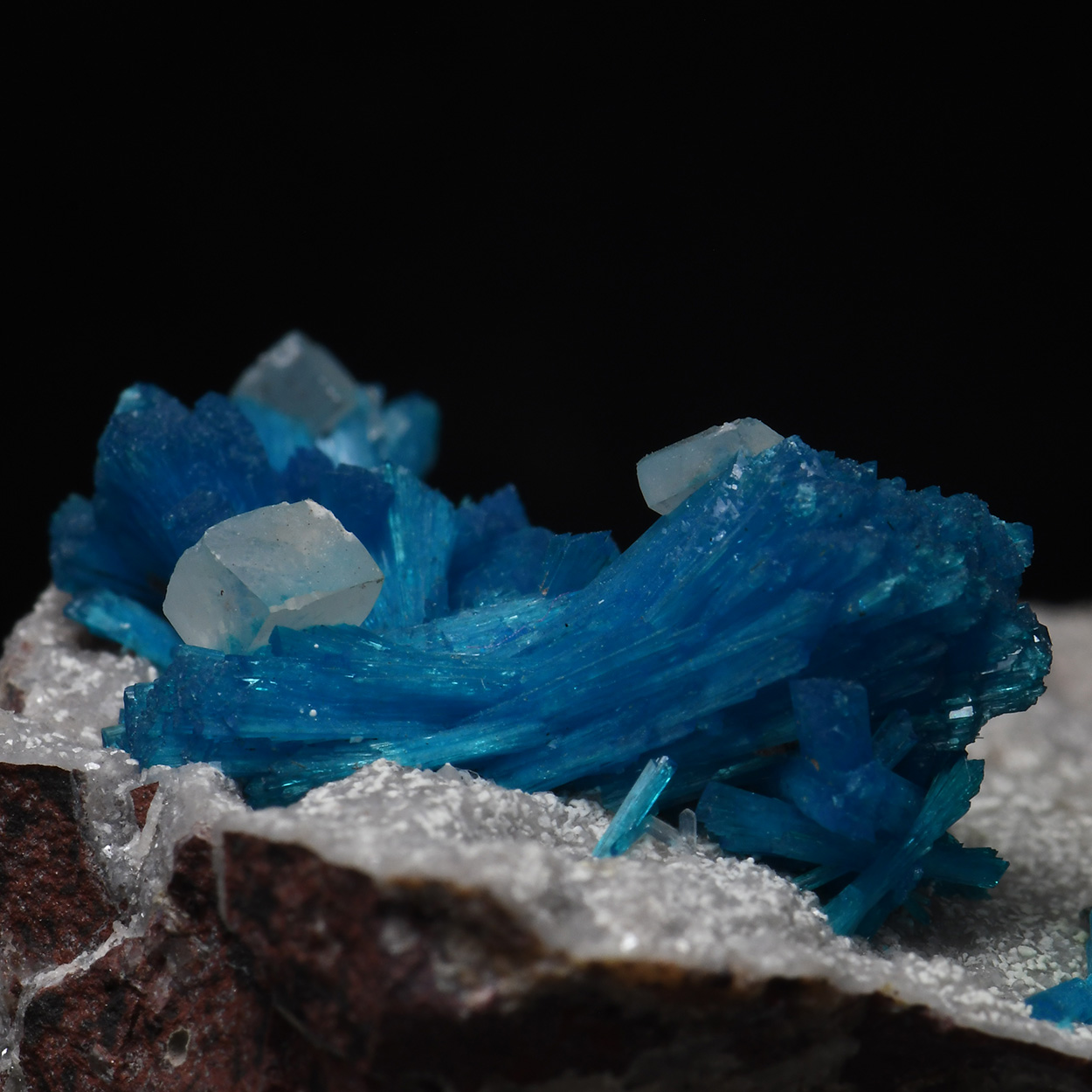 Cavansite With Calcite