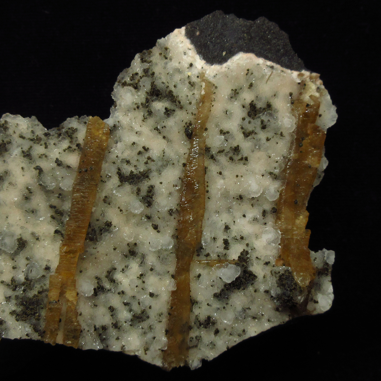 Calcite On Chalcedony With Apophyllite