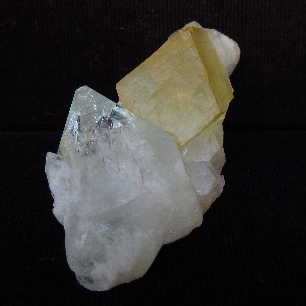 Apophyllite & Calcite