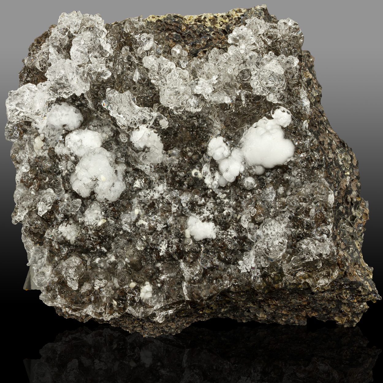 Hyalite & Aragonite