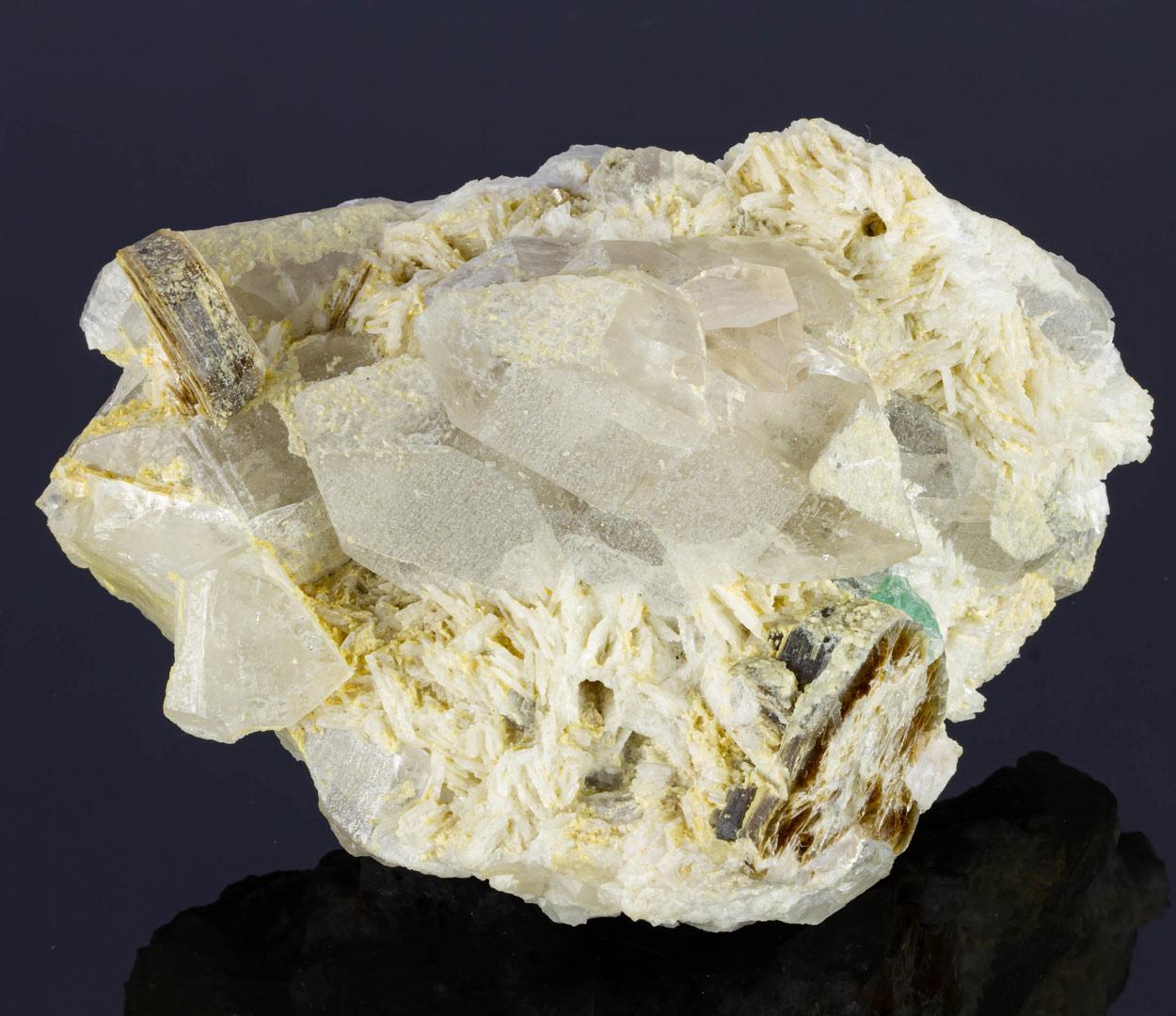 Topaz Quartz Cleavelandite & Muscovite