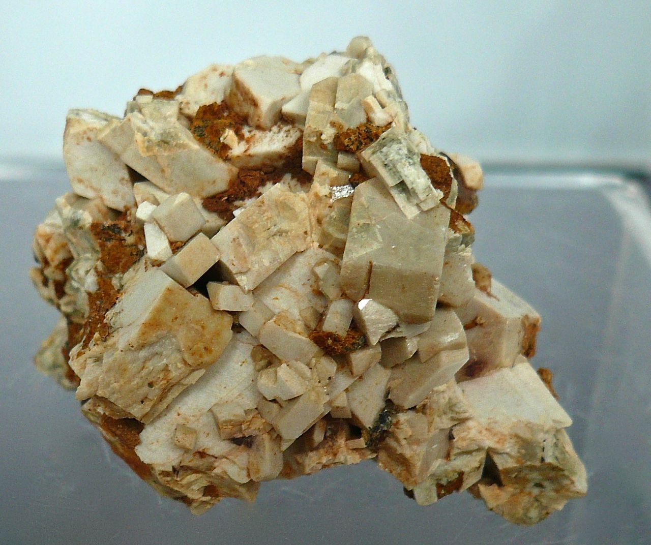 Axinite & Orthoclase