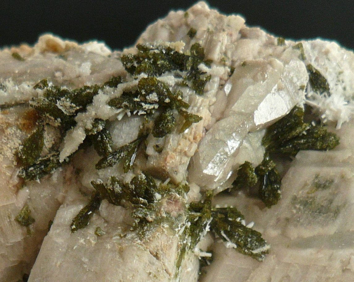 Laumontite Epidote & Orthoclase