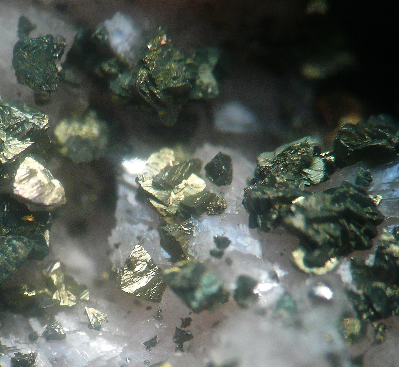 Pyrite & Dolomite