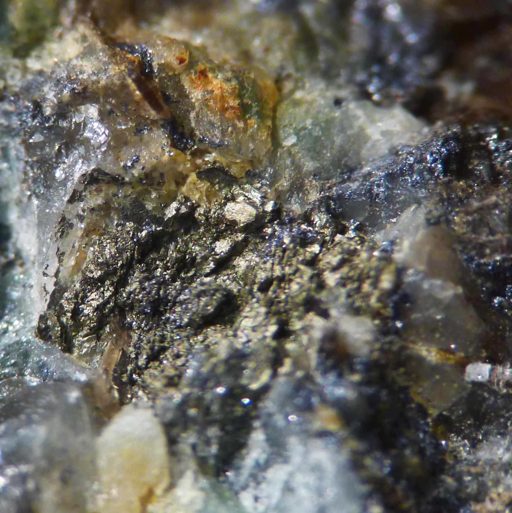 Wolframite & Arsenopyrite