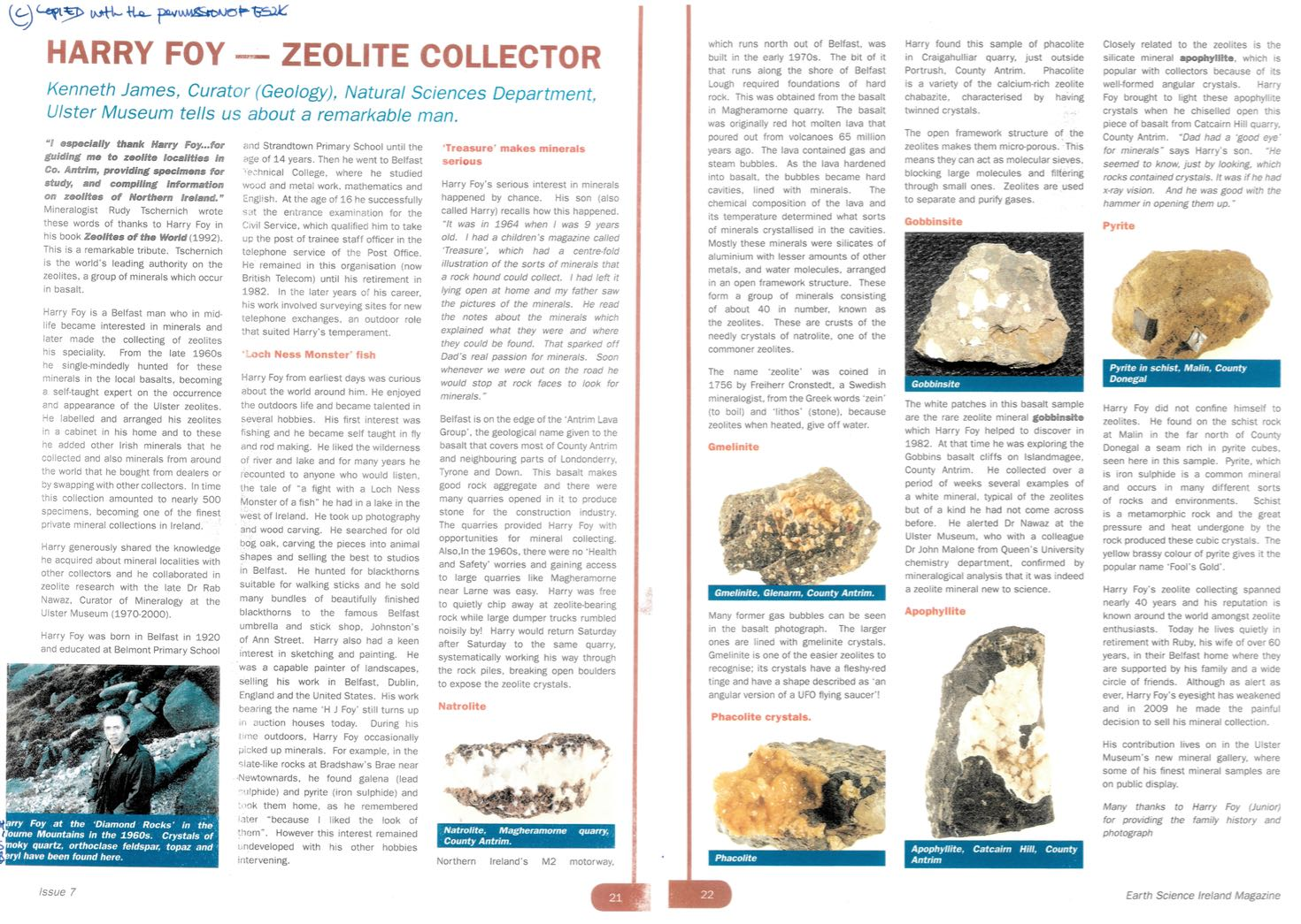 Cowlesite & Chabazite