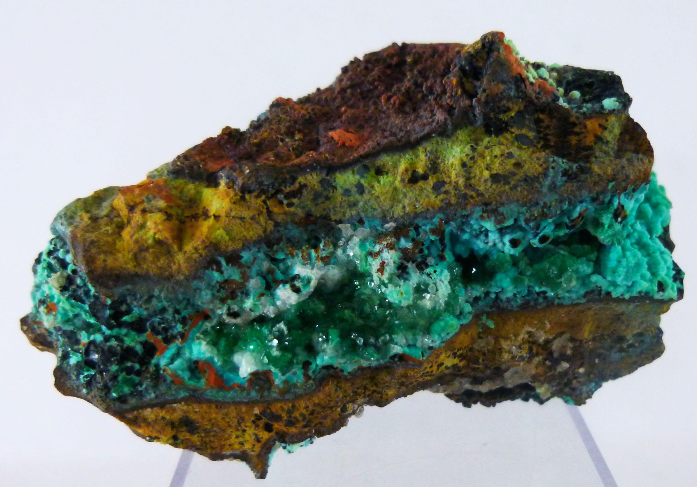 Chrysocolla & Malachite