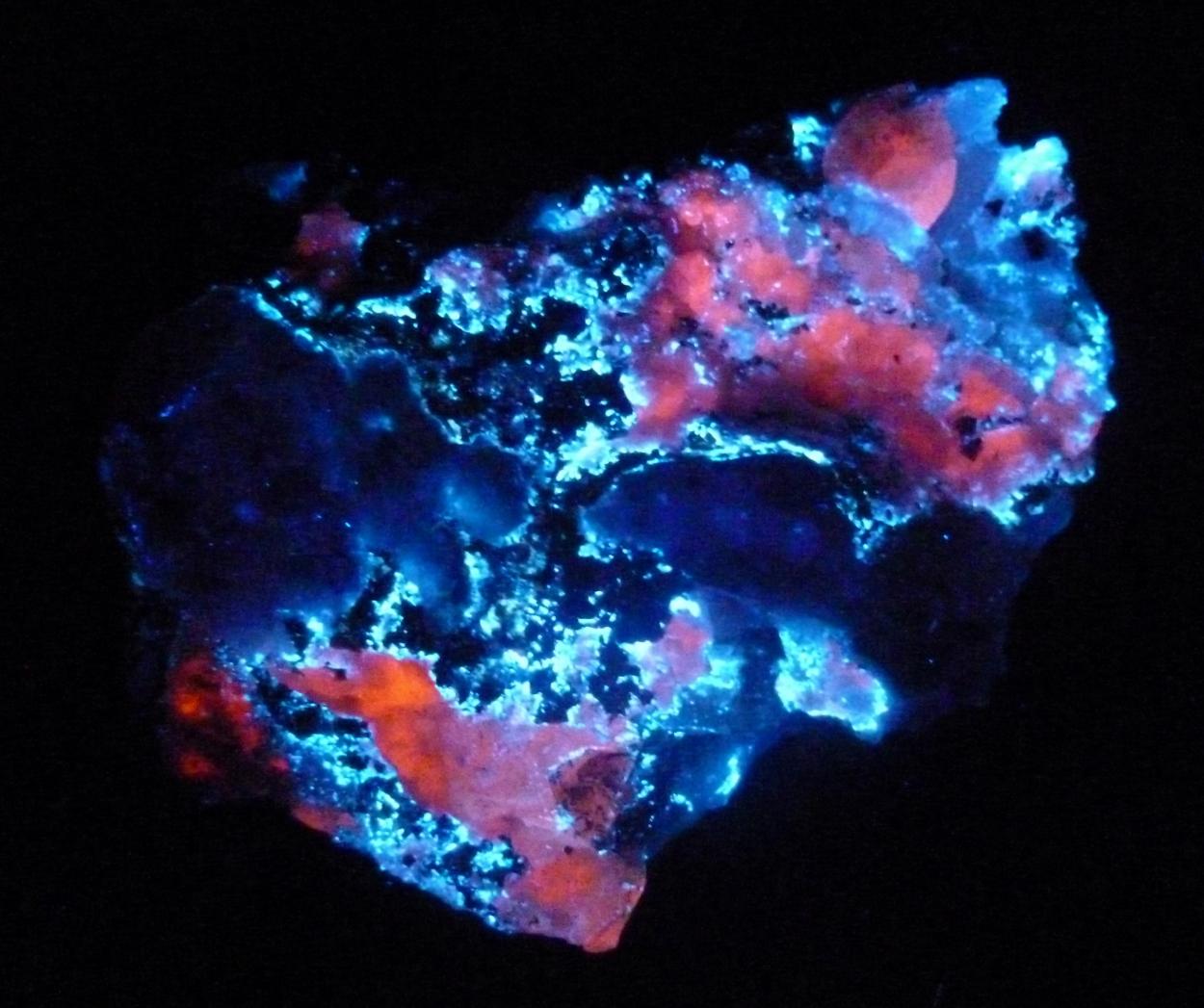 Hydrozincite Calcite & Sphalerite