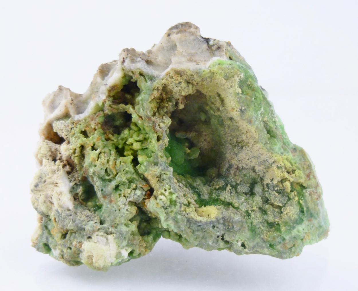 Phosphohedyphane Vanadinite & Hemimorphite