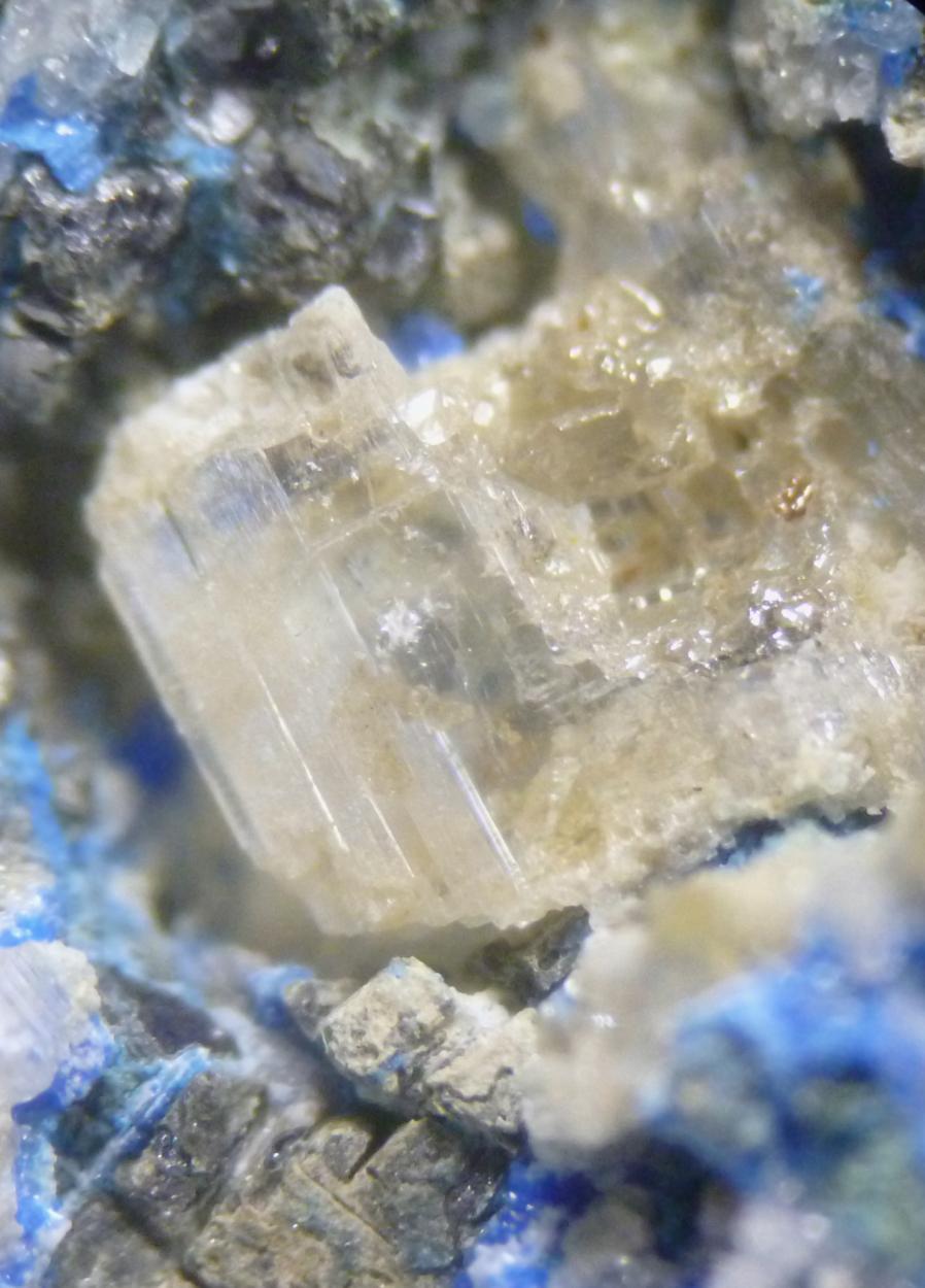 Cerussite & Linarite