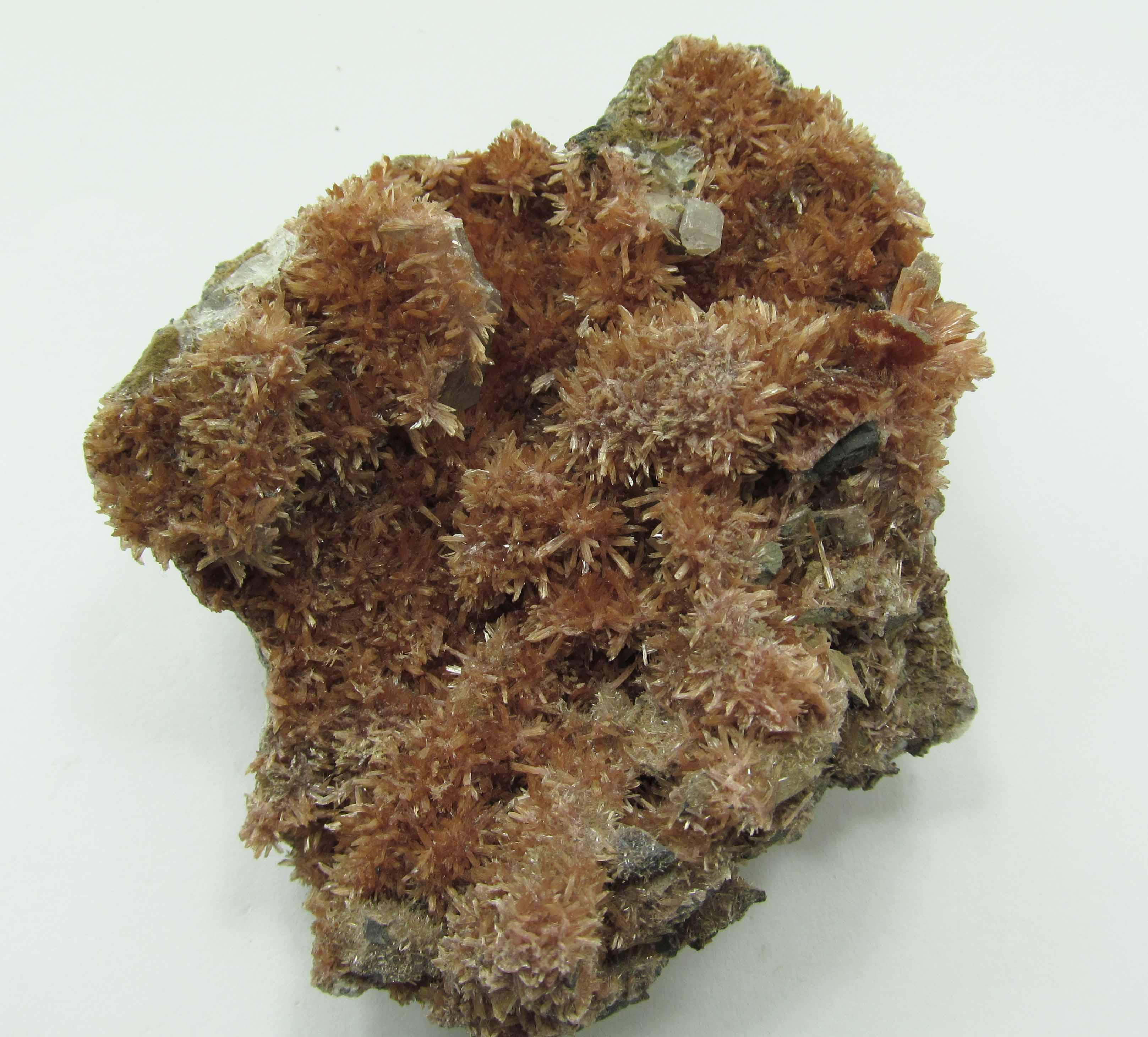 Inesite & Calcite
